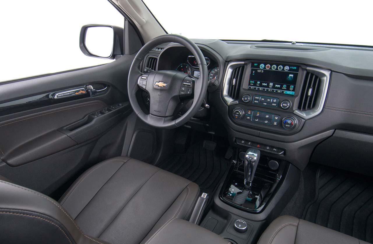 Interior Nueva Chevrolet S10