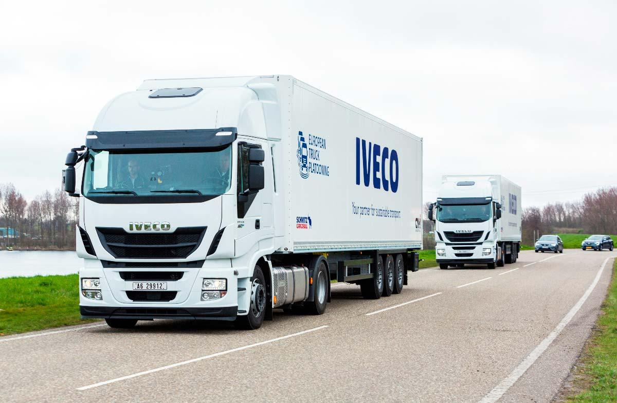 El primer paso en la conducción autónoma de camiones