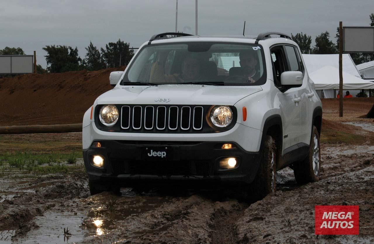 Jeep Renegade, en Argentina desde $419.000
