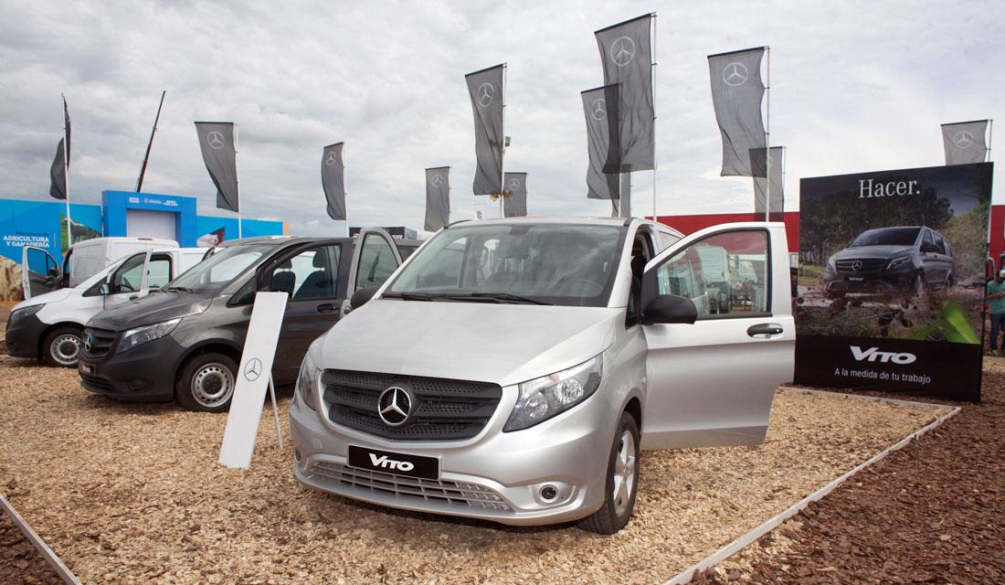 Mercedes-Benz lanzó las Vito para pasajeros