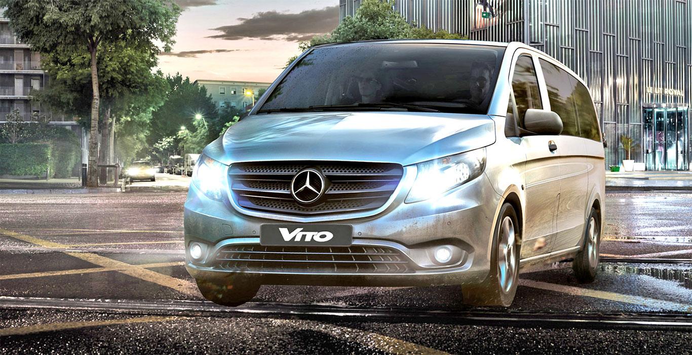 MB Vito para pasajeros: beneficiada con la baja del impuesto