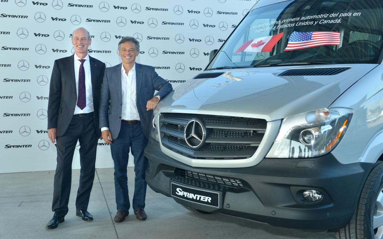 Histórico: Mercedes-Benz inicia exportaciones a Estados Unidos y Canadá