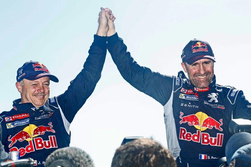 Stéphane Peterhansel ganó su duodécimo Dakar