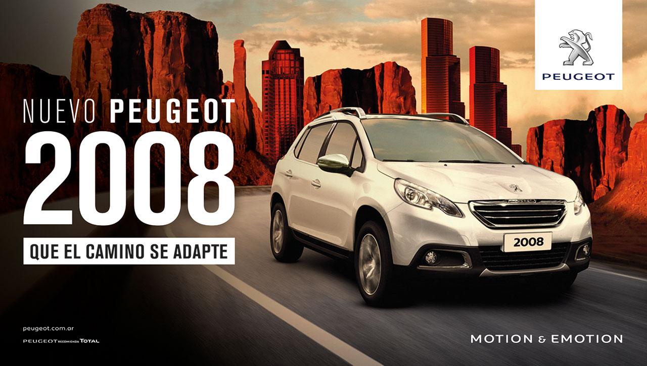 Peugeot lanzó la campaña de comunicación del 2008