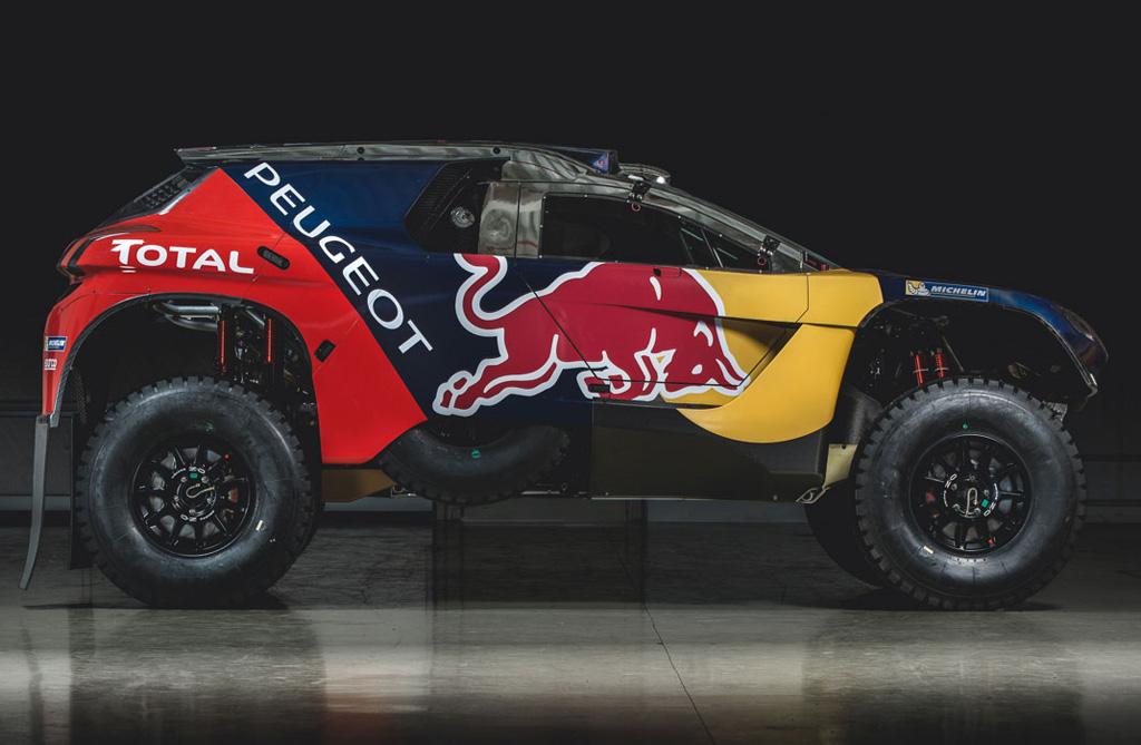 El Peugeot 2008 DKR16 revela sus colores para el Dakar