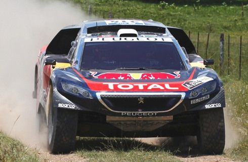 Así es el Team Peugeot Total para el Dakar 2016