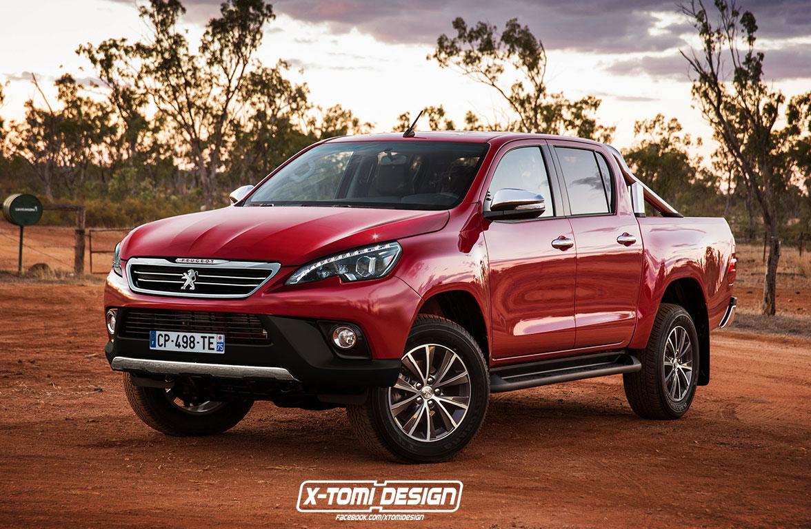 ¿Será así la futura pick up de Peugeot?