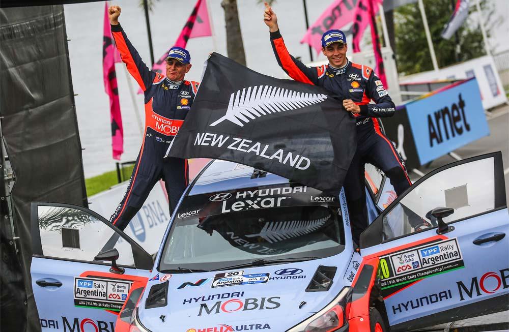 Rally de Argentina: Paddon con Hyundai venció a Ogier (VW) en emotivo final
