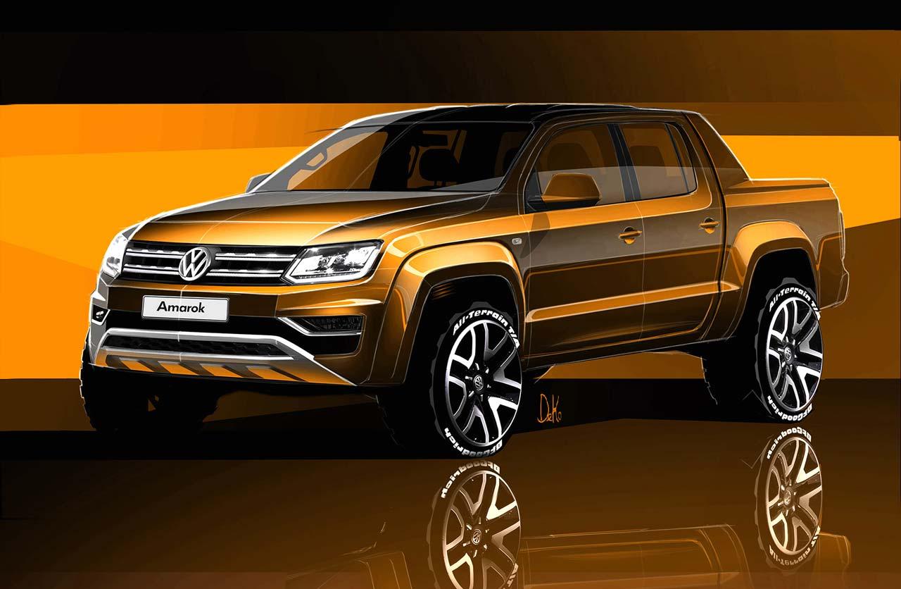 Restyling inminente para la Volkswagen Amarok