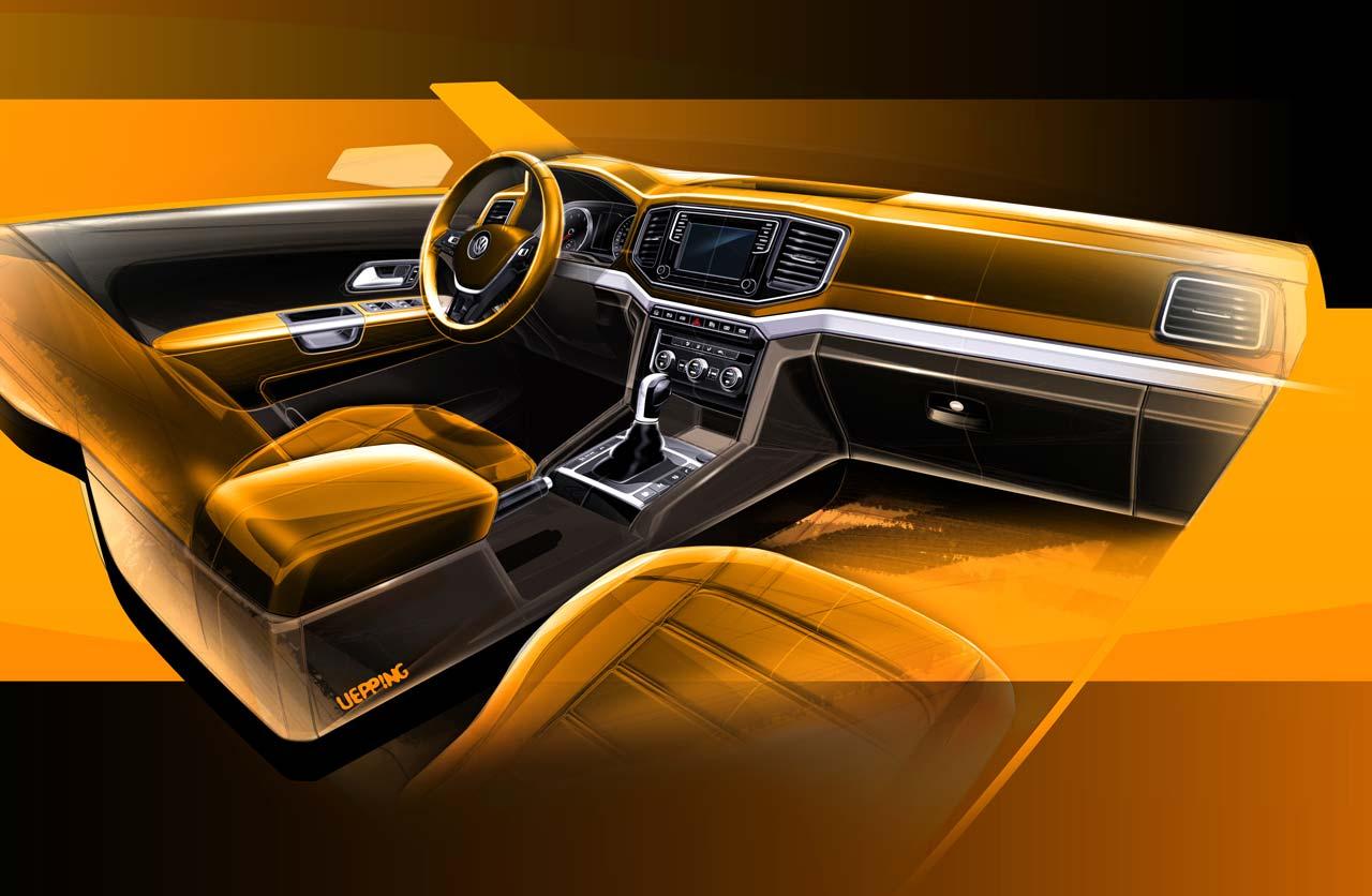 VW-Amarok-boceto-interior