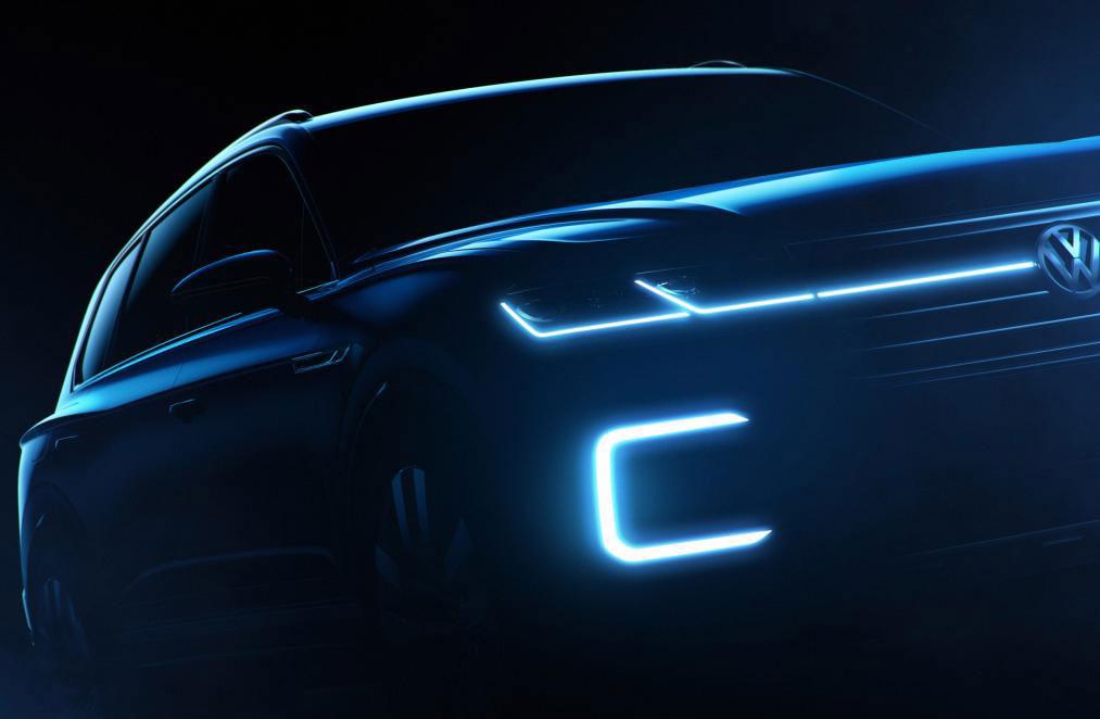 ¿VW anticipa el próximo Touareg?