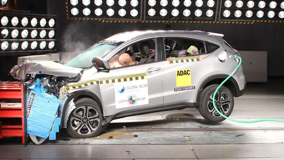 Cinco estrellas de Latin NCAP para Honda City, Fit y HR-V