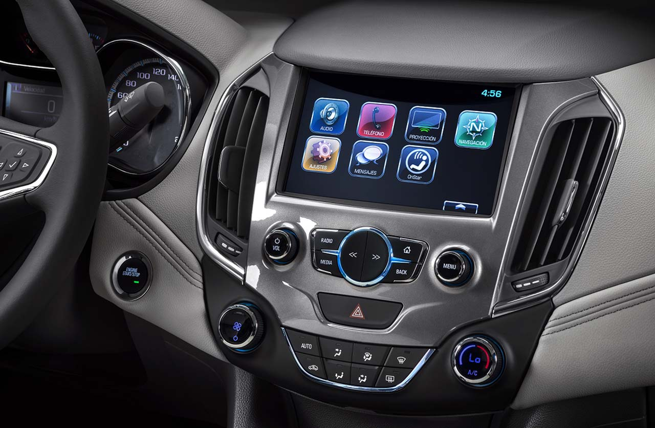 Interior Nuevo Chevrolet Cruze