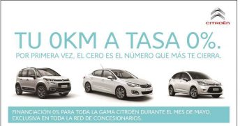 Citroën con financiación a tasa 0