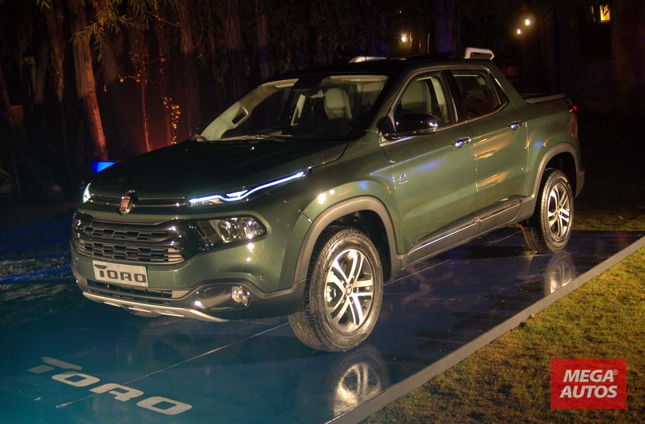 Fiat Toro en El Calafate