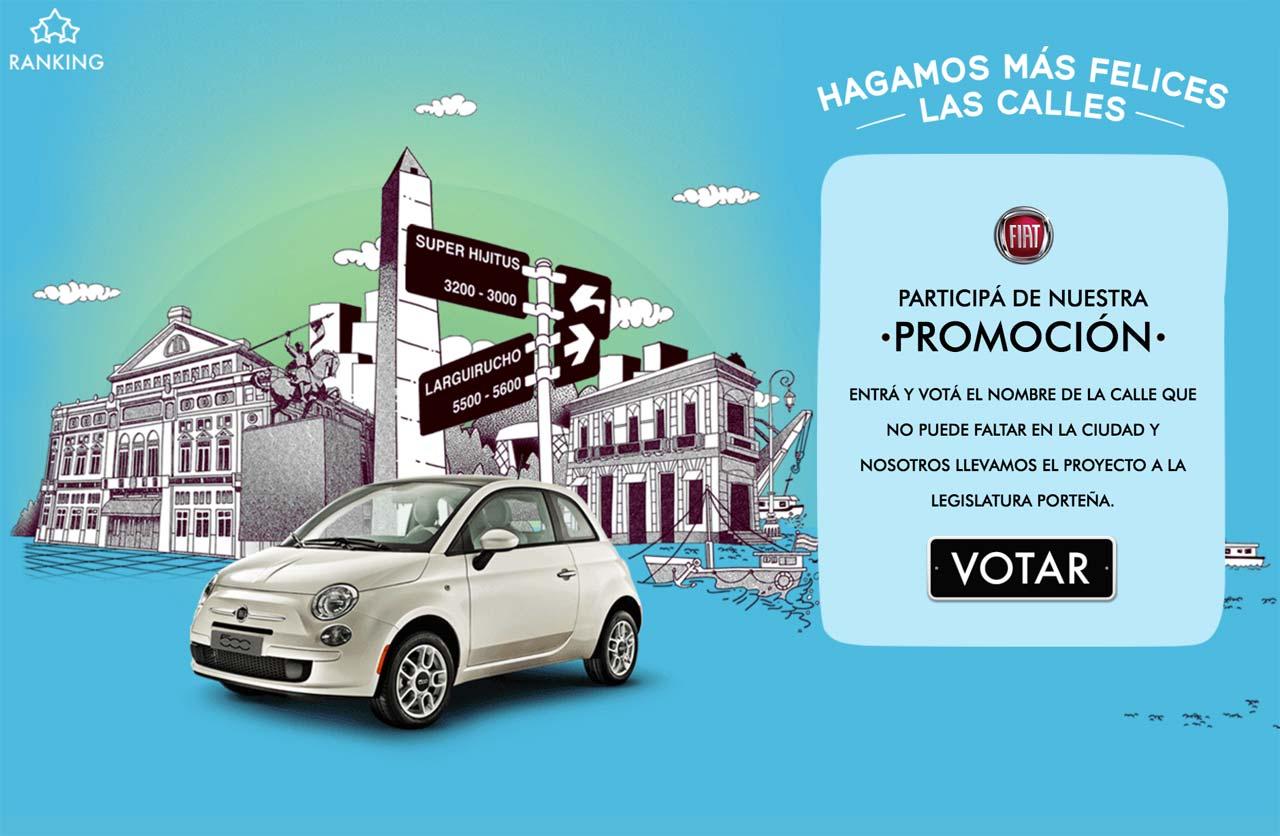 Calles Felices: la campaña de Fiat para una ciudad más feliz