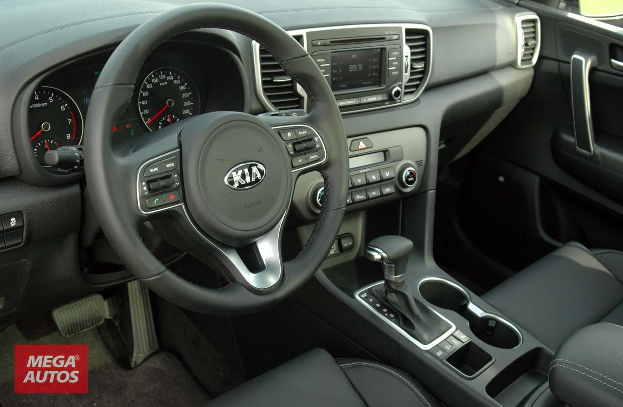 Interior nueva Kia Sportage