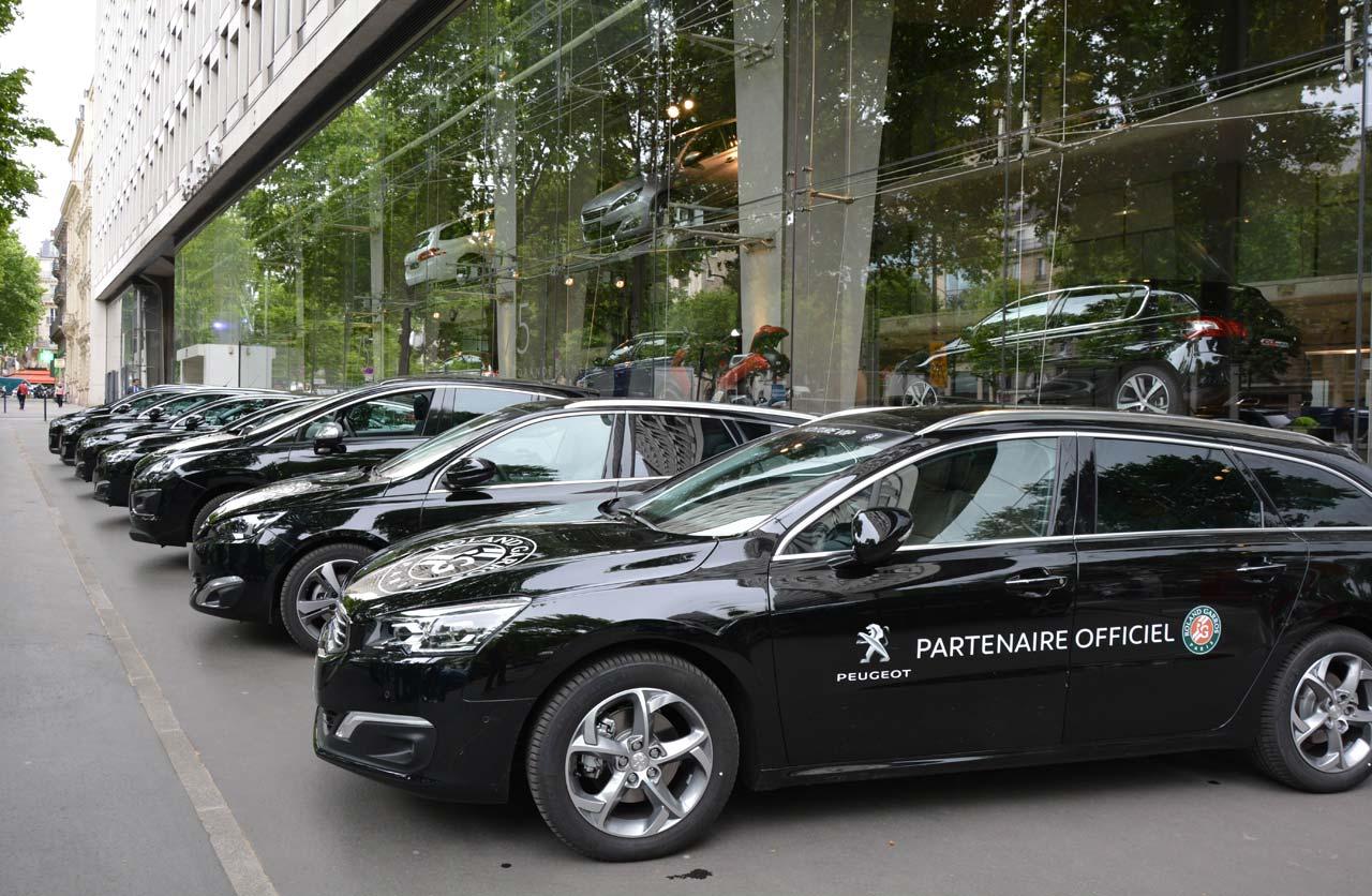 Peugeot es protagonista de una nueva edición de Roland Garros