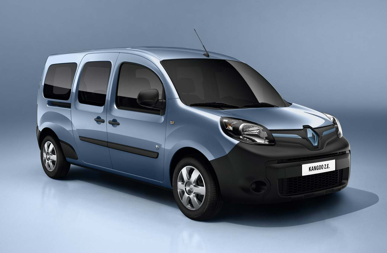 Renault Kangoo Z.E. eléctrica
