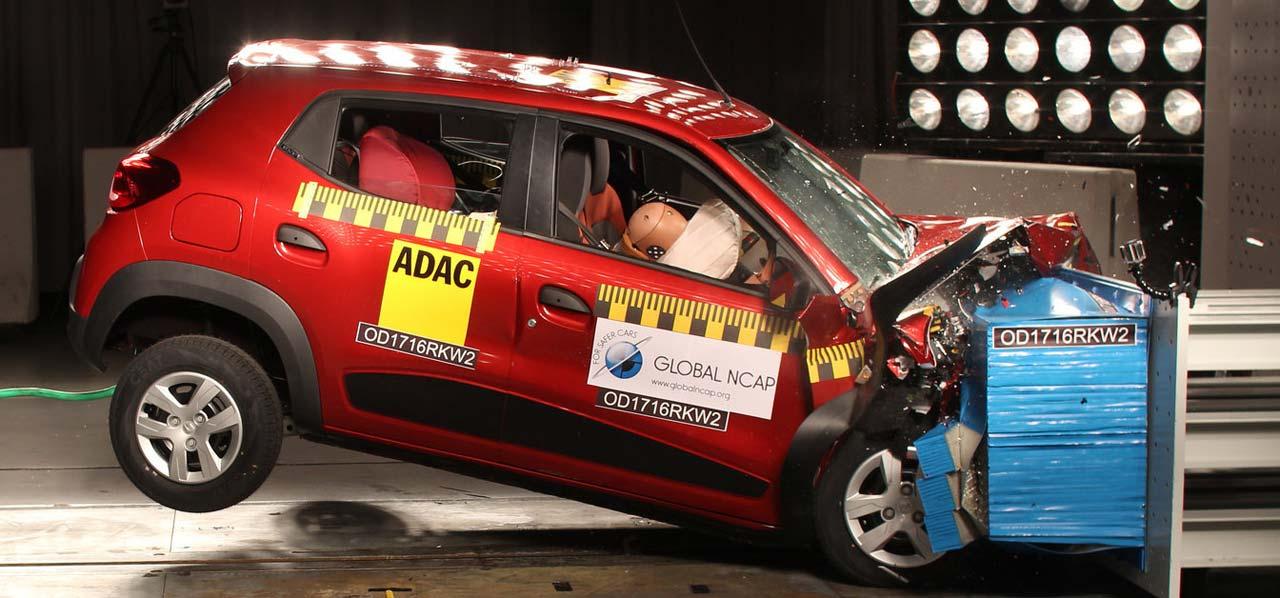 Renault Kwid: cero estrellas GlobalNCAP