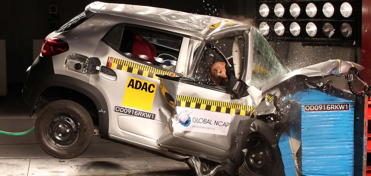 Renault Kwid: cero estrellas en India