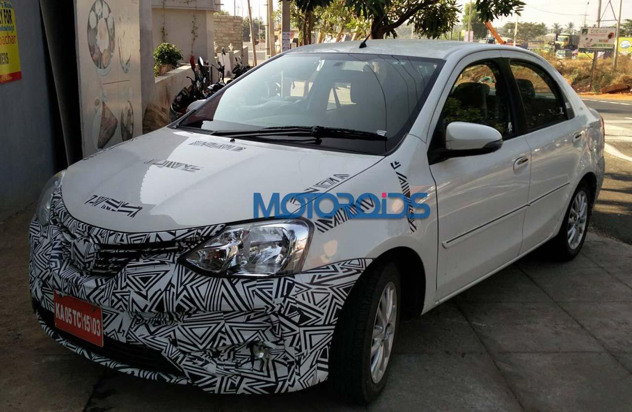 Toyota prepara cambios para el Etios