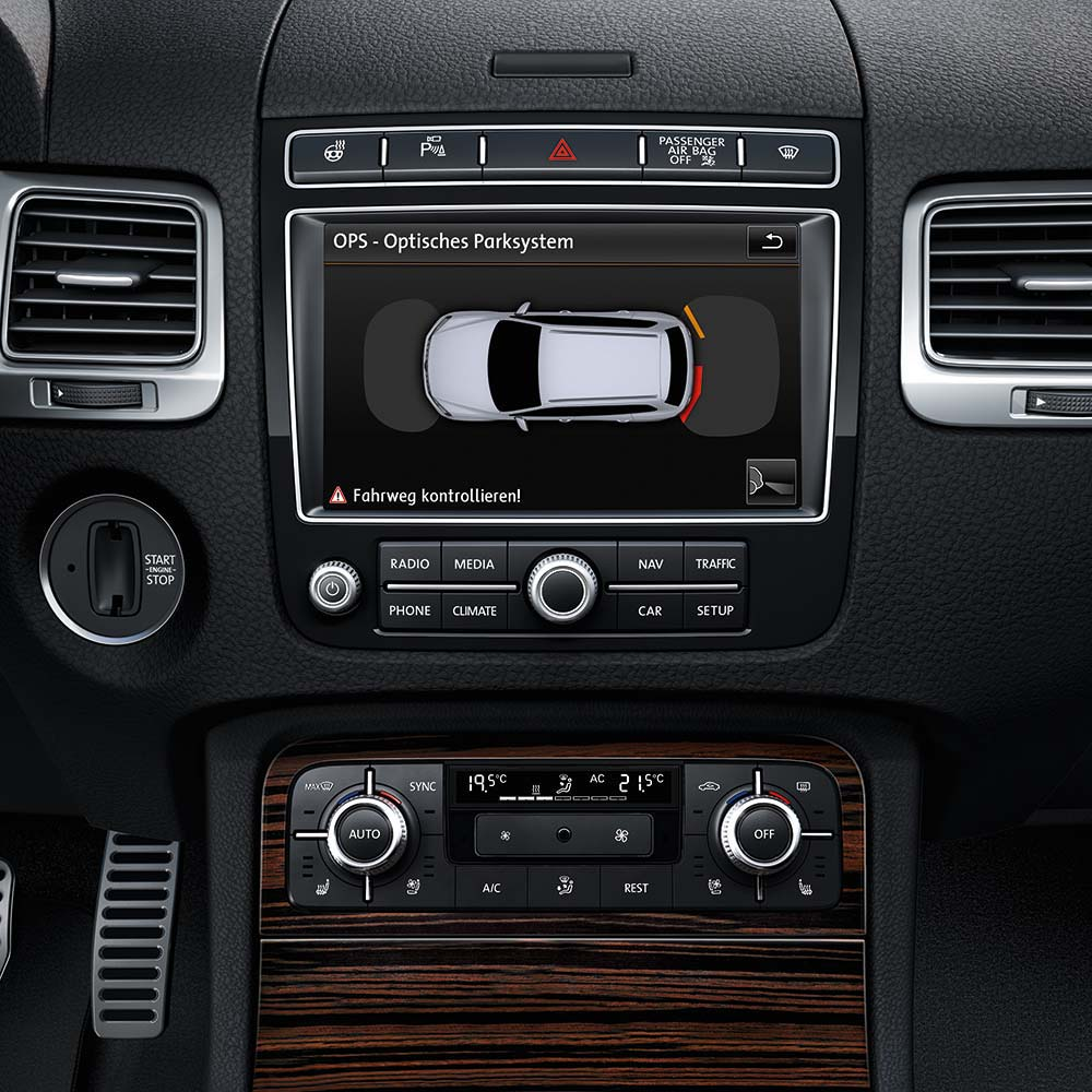Interior Volkswagen Touareg 2016