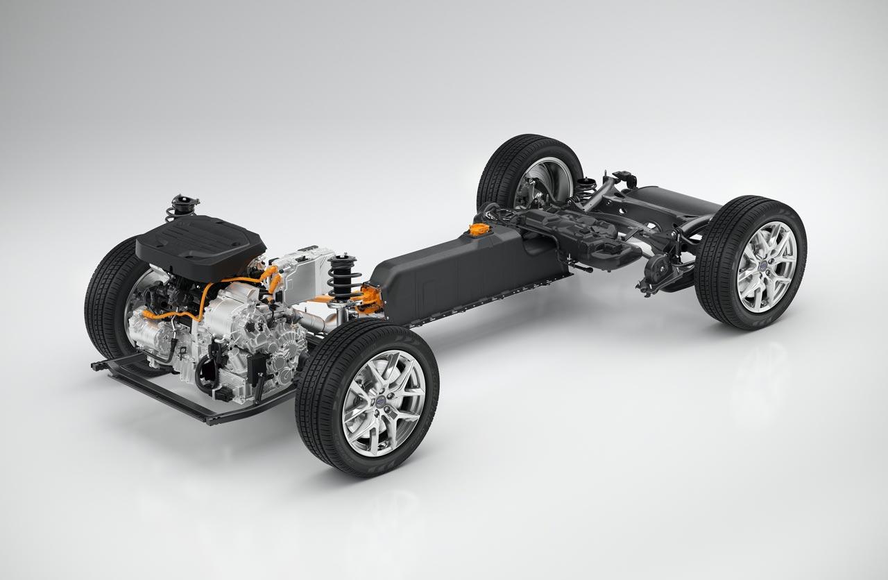 Volvo CMA plataforma modular compacta