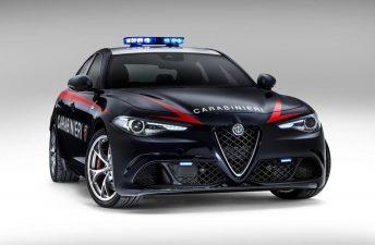 Superpatrullero: Alfa Romeo Giulia QV Carabinieri