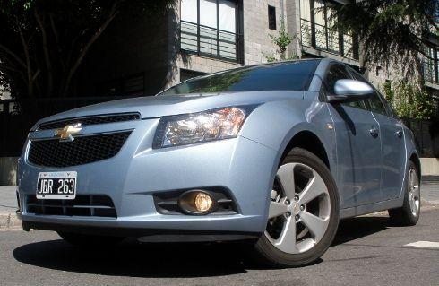Prueba Chevrolet Cruze