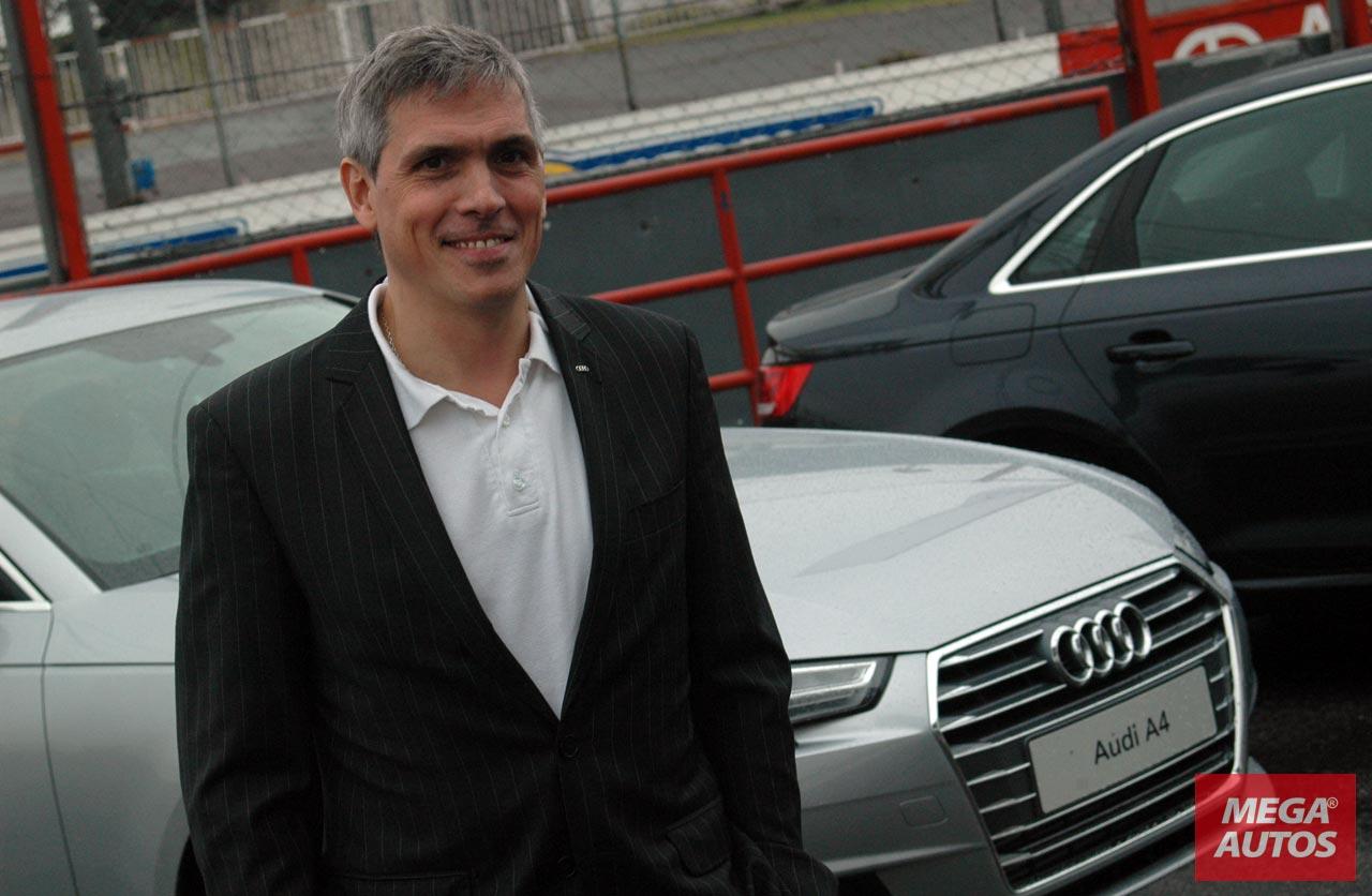 Gonzalo Cassina, Audi Argentina