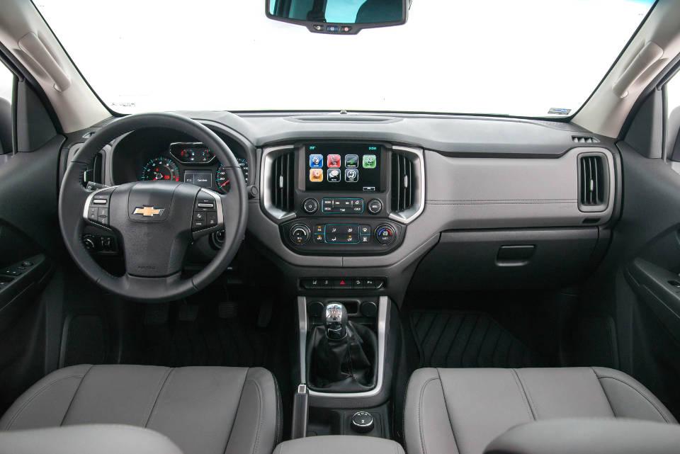 Interior Nueva Chevrolet S10 (2017)