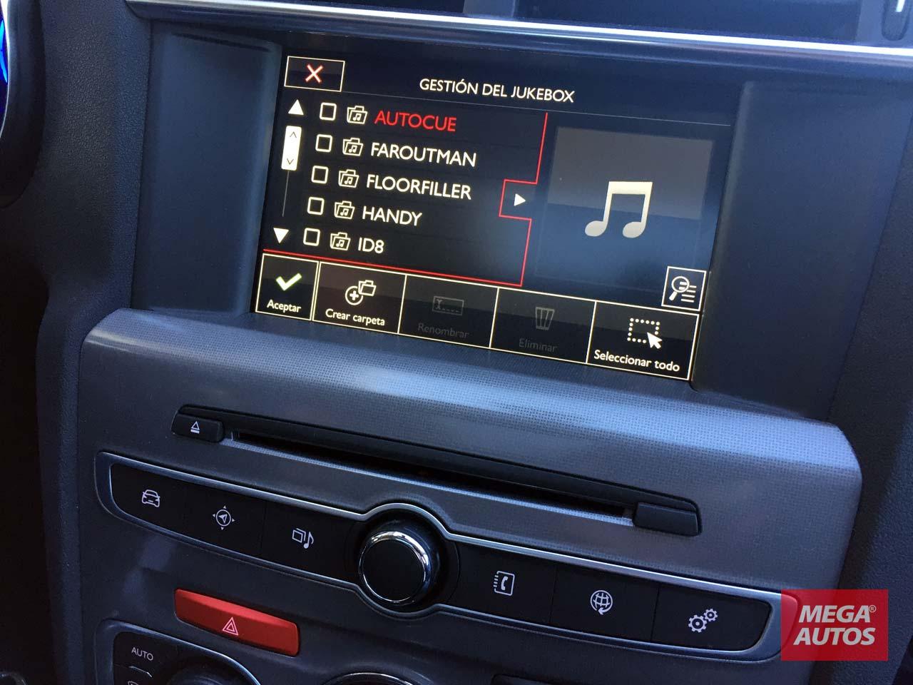 Citroën C4 Lounge multimedia