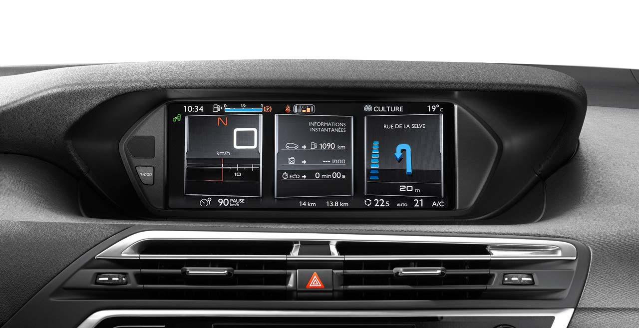 Citroën C4 Picasso y Grand C4 Picasso pantalla