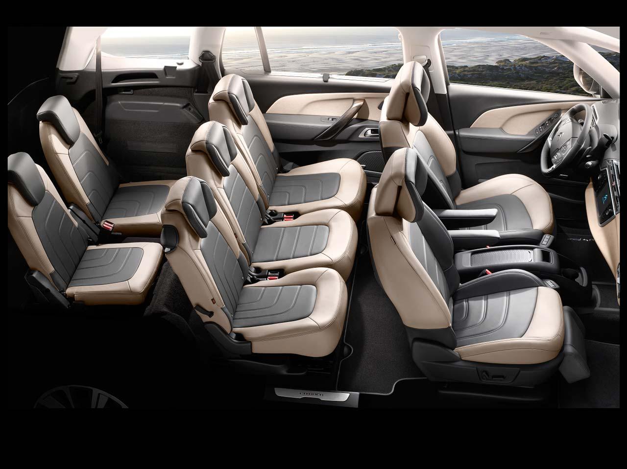 Citroën C4 Picasso y Grand C4 Picasso interior