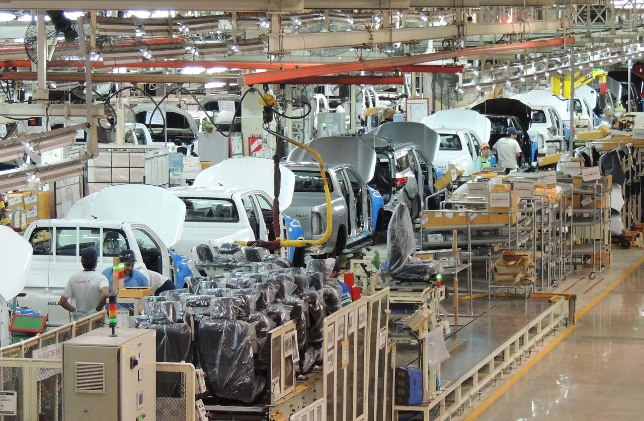 La producción automotriz volvió a caer en mayo: -9,6%
