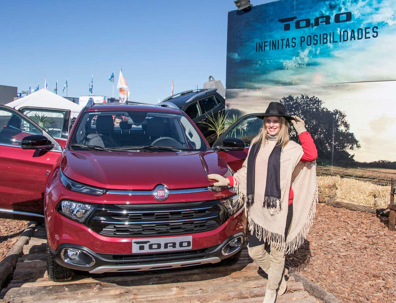 Fiat Toro en Agroactiva