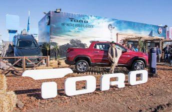 Con la pick up Toro, Fiat dijo presente en AgroActiva