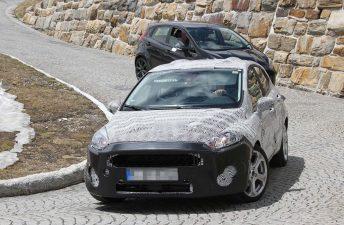 El próximo Ford Fiesta, con su nueva imagen en Europa