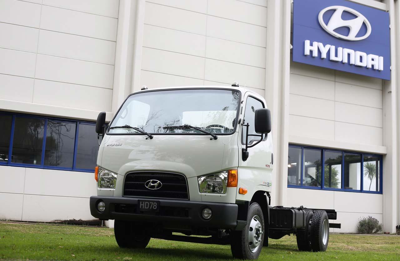 Más potencia y seguridad para el Hyundai HD78