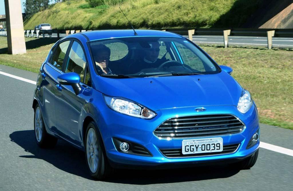 Ford Fiesta, con motor 1.0 EcoBoost en Brasil