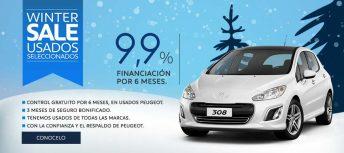"""""""Peugeot Winter sale"""", el plan integral de venta de autos usados del León"""