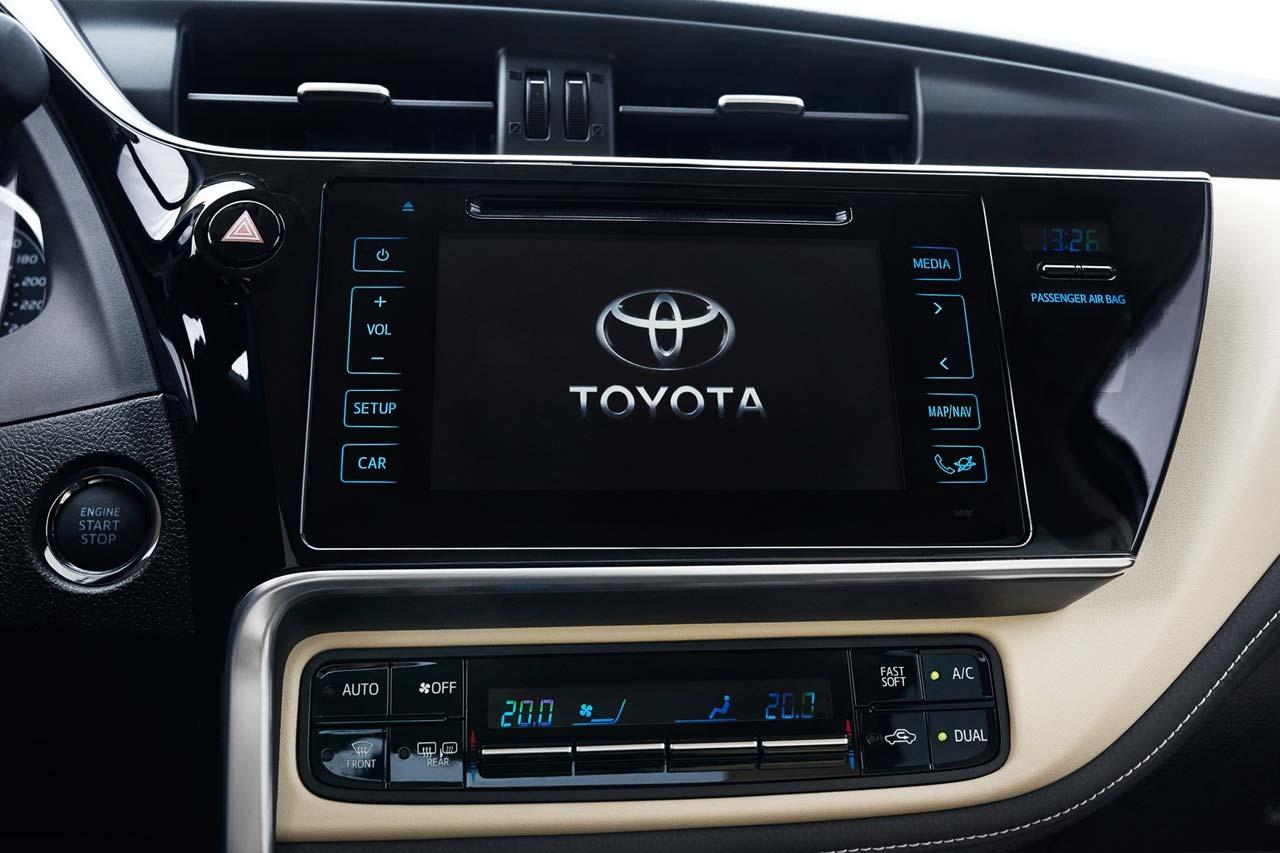 Central multimedia Toyota Corolla 2017