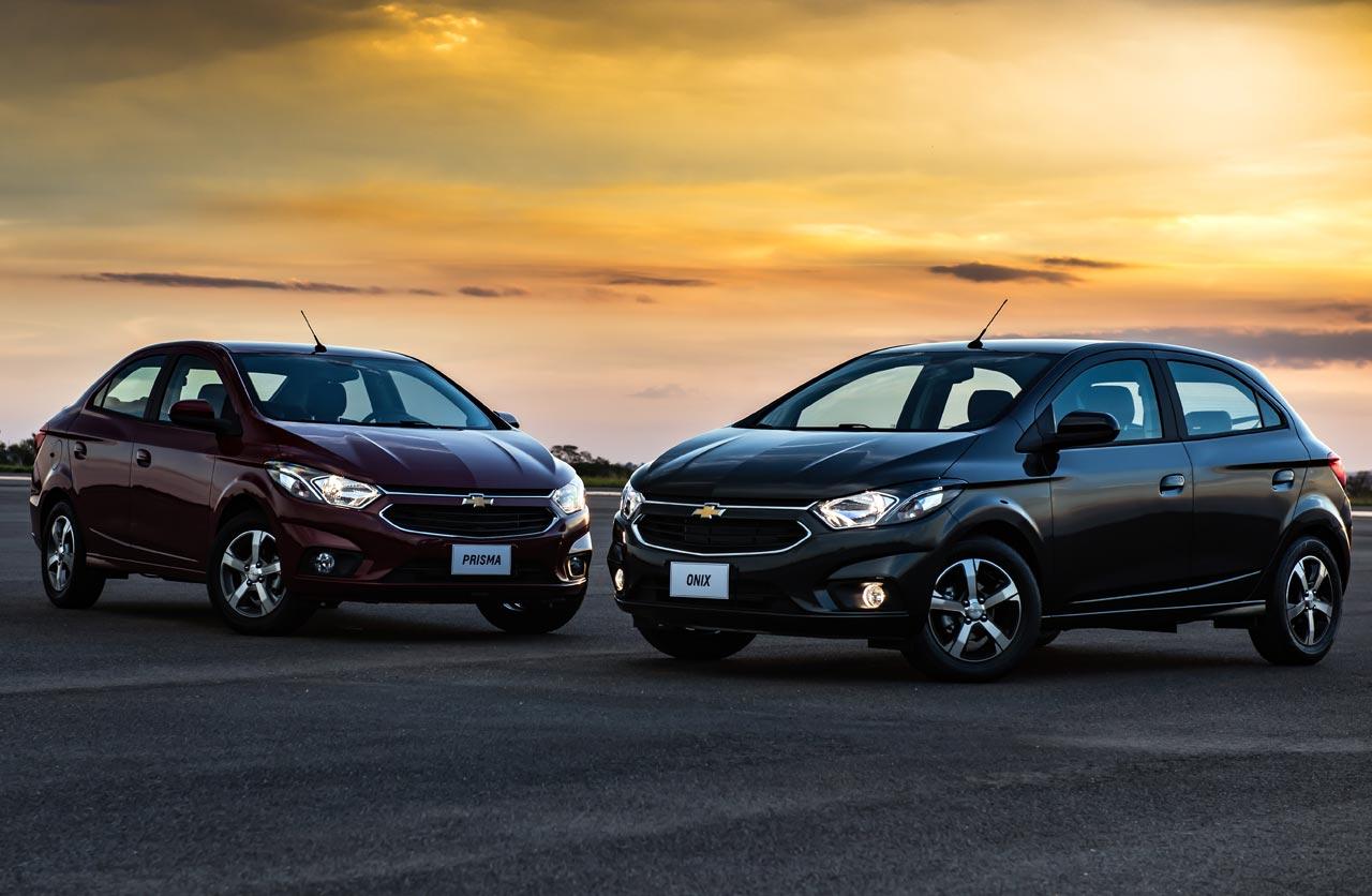 Chevrolet Onix y Prisma