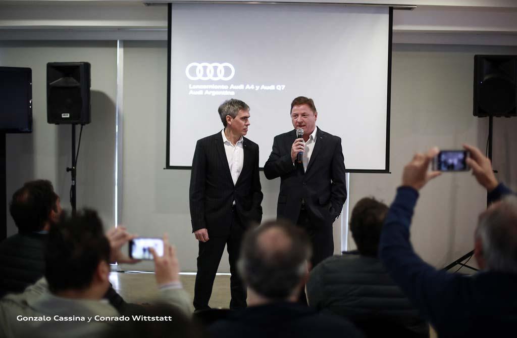 Conrado Wittstatt y Gonzalo Cassina
