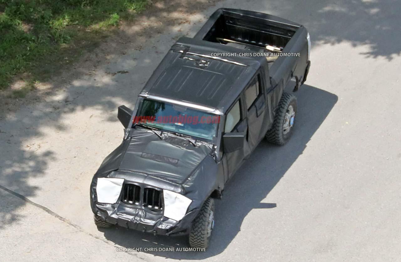 FCA Jeep Wrangler pick up