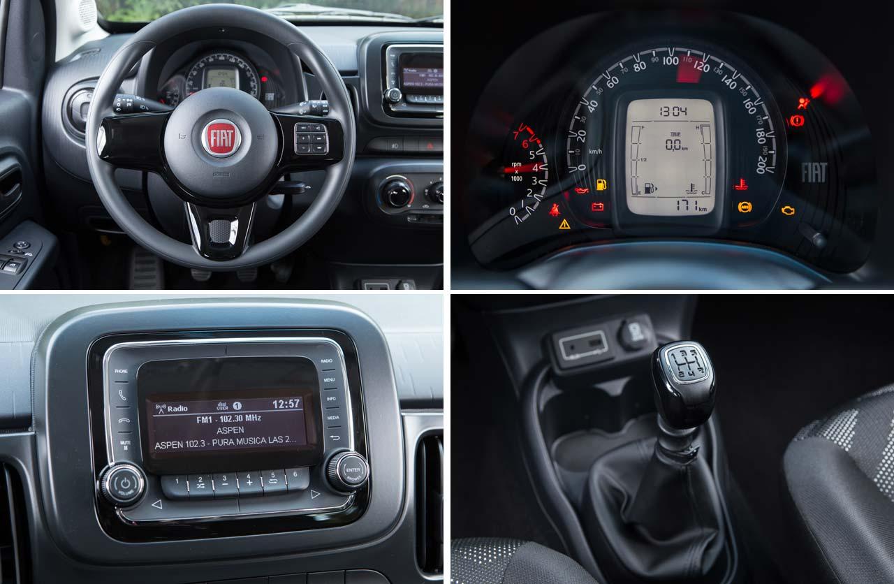 Interior Fiat Mobi Argentina