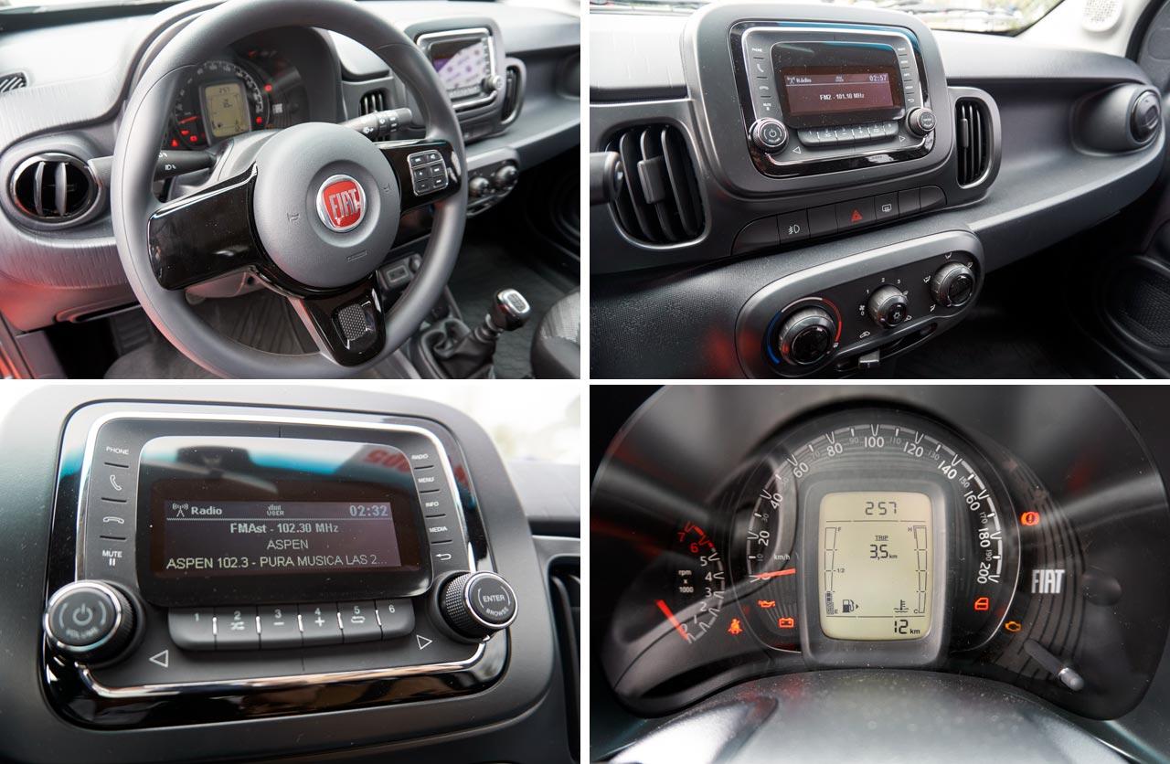 Fiat Mobi volante, plancha, radio