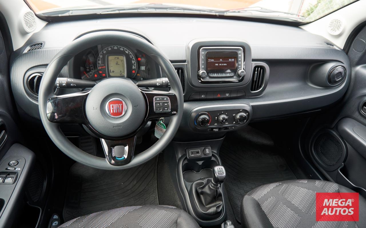 Interior Fiat Mobi