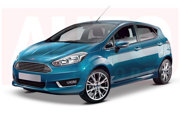 Anticipan el diseño del futuro Ford Fiesta